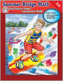 Summer Bridge Math Grade 5-6 by Carson Dellosa: Book Cover