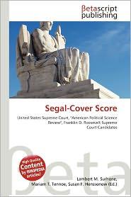 BARNES & NOBLE | Segal-Cover Score by Lambert M. Surhone | Paperback