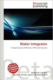 Water Integrator | RM.