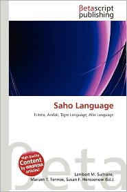Saho Language | RM.