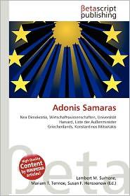 Adonis Samaras | RM.