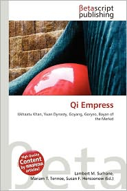 BARNES &amp; NOBLE | Qi Empress by Lambert M. Surhone | Paperback