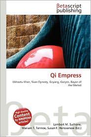 BARNES & NOBLE | Qi Empress by Lambert M. Surhone | Paperback
