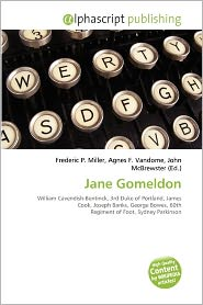 BARNES & NOBLE | Jane Gomeldon by Frederic P. Miller | Paperback