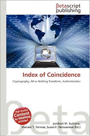 Index Of Coincidence | RM.