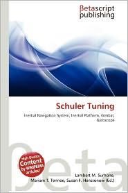BARNES & NOBLE | Schuler Tuning by Lambert M. Surhone | Paperback