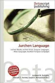 BARNES & NOBLE | Jurchen Language by Lambert M. Surhone | Paperback