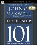 Leadership 101 by John C. Maxwell: CD Audiobook Cover