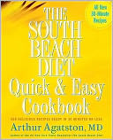 The South Beach Diet Quick and Easy Cookbook by Arthur Agatston: NOOK Book Cover