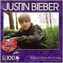Justin Bieber100 piece puzzle with photo card by Canadian Group: Product Image