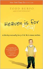 Heaven Is for Real by Todd Burpo: Book Cover