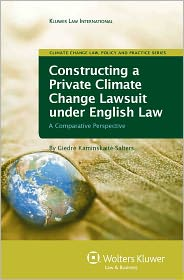 BARNES & NOBLE | Constructing A Private Climate Change Lawsuit ...