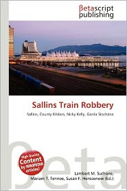 BARNES & NOBLE | Sallins Train Robbery by Lambert M. Surhone ...