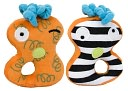 Ha Ha Springo multi-sensory rattle by Kushies Baby Canada: Product Image