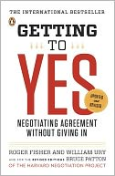 Getting to Yes by Roger Fisher: Book Cover