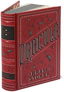 Dracula (Barnes &amp; Noble Leatherbound Classics Series) by Bram Stoker: Book Cover