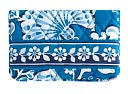 Vera Bradley Blue Lagoon One for the Money Fabric Case by Vera Bradley for Barnes & Noble: Product Image