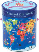 Around the World 63 Pc Puzzle by Galison Books: Product Image