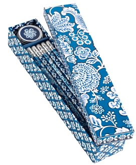 Vera Bradley Blue Lagoon Pencil Box