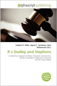 R V Dudley And Stephens | RM.