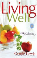 Living Well by Carole Lewis: NOOK Book Cover