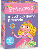 Princess Match Up Game + Puzzle by Peaceable Kingdom: Product Image