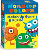 Monster Colors Match Up Game + Puzzle by Peaceable Kingdom: Product Image