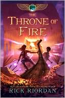 The Throne of Fire (Kane Chronicles Series #2) by Rick Riordan: Book Cover