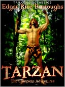 Tarzan by Edgar Rice Burroughs: NOOK Book Cover