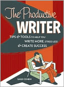 The Productive Writer by Sage Cohen: Book Cover