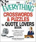 The Everything Crosswords and Puzzles for Quote Lovers Book by Charles Timmerman: Book Cover