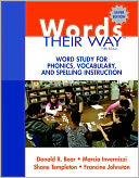 Words Their Way by Donald R. Bear: Book Cover