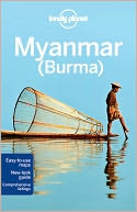 Lonely Planet Myanmar (Burma) by John Allen: Book Cover