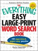 The Everything Easy Large-Print Word Search Book by Charles Timmerman: Book Cover