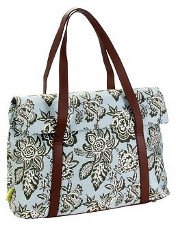 Harmony Laptop Bag in Tropicali Shale Grey