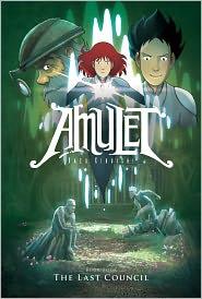 The Last Council (Amulet Series #4), Vol. 4 by Kazu Kibuishi: Book Cover