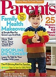 Parents - One Year Subscription: Magazine Cover
