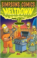 Simpsons Comics Meltdown by Matt Groening: Book Cover