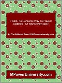 download 7 Step, No Nonsense Way To Prevent Diabetes - Or Your Money Back! book