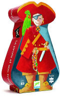 Pirate & Treasure 36 Piece Puzzle by Djeco: Product Image