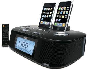 Hazard Alert: Hi-Fi Dual Alarm Clock with NOAA and S.A.M.E Weather Hazard Alert