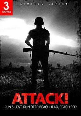 Attack!: Run Silent, Run Deep/Beachhead/Beach Red