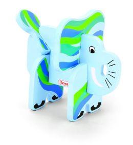 Parents Jungle Pals Elephant Stacking Puzzle