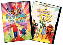 Willy Wonka and the Chocolate Factory / The Wizard of Oz