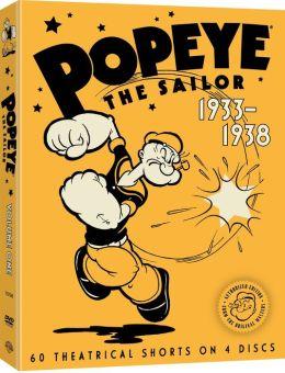 Popeye the Sailor, 1933-1938 - Volume One