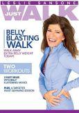 Video/DVD. Title: Leslie Sansone: Just Walk - Belly Blasting Walk
