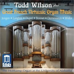 Great French Virtuosic Organ Music