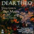 CD Cover Image. Title: Dear Theo: 3 Song Cycles by Ben Moore, Artist: Brian Zeger
