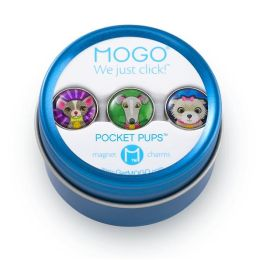 MOGO Pocket Pups Collection Set of 3 Charms
