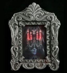 Buckys Boneyard AM690 Light-Up Haunted Picture
